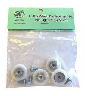 Trolley Wheel Replacement kit - Ricambio per Light Rail