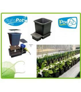 1 Pot Kit Estensione - Vaso da 15 Lt