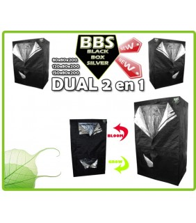 Grow Room Black Box Dual 90x60x200