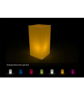 Vaso Ellenico Quadrato Design Luminoso