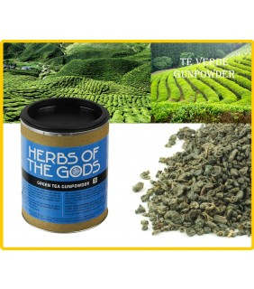 Te Verde Gunpowder - Green Tea GunPowder Shredded 80 Gr