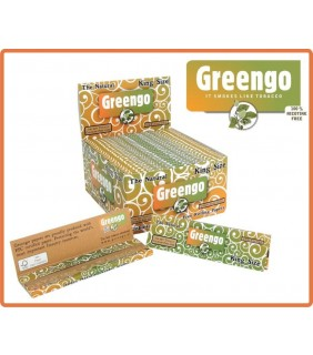 Smoking Paper Greengo Slim Kingsize 2in1
