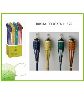 Torcia colorate In Bamboo